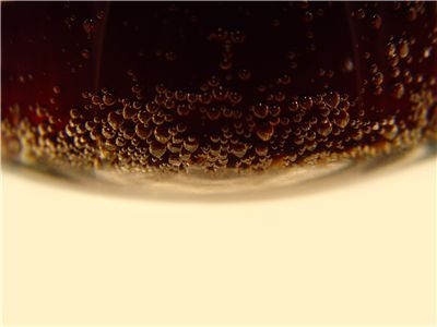 Picture Of Bubbles Of Soda