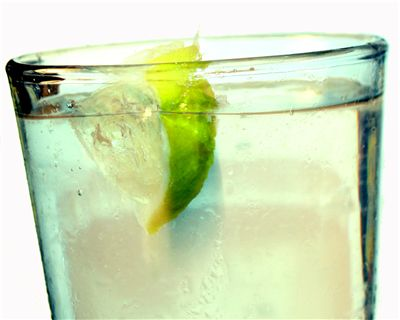 Picture Of Carbonated Water With Lime