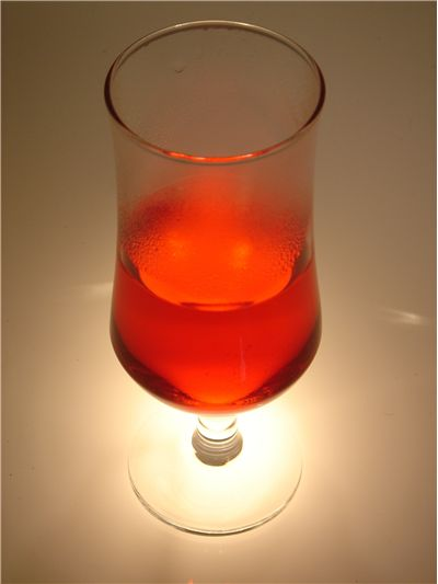 Picture Of Cold Red Soft Drink