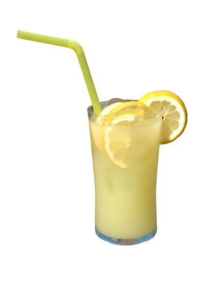 Picture Of Cold Soft Drink With Lemon