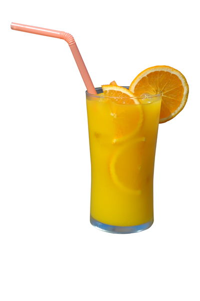 Picture Of Cold Soft Drink With Orange