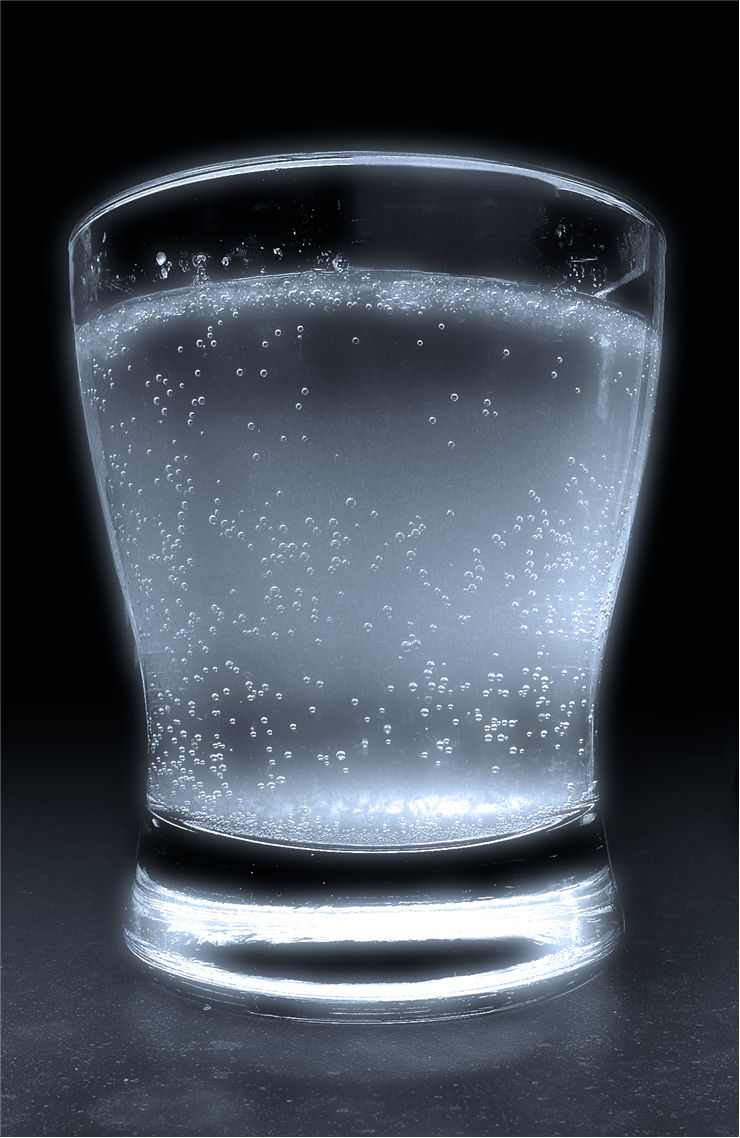 Picture Of Glas Filled With Soda