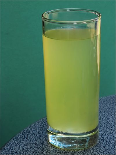 Picture Of Green Soft Drink
