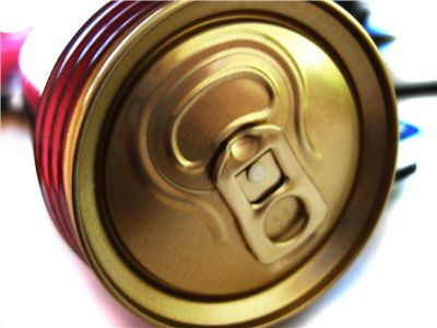 Picture Of Metal Can Of Soda