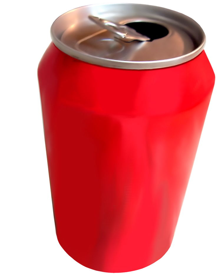 Picture Of Red Can Of Soft Drink