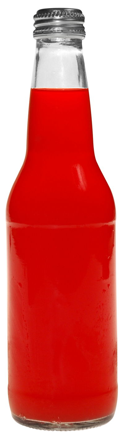 Picture Of Red Soda Bottle