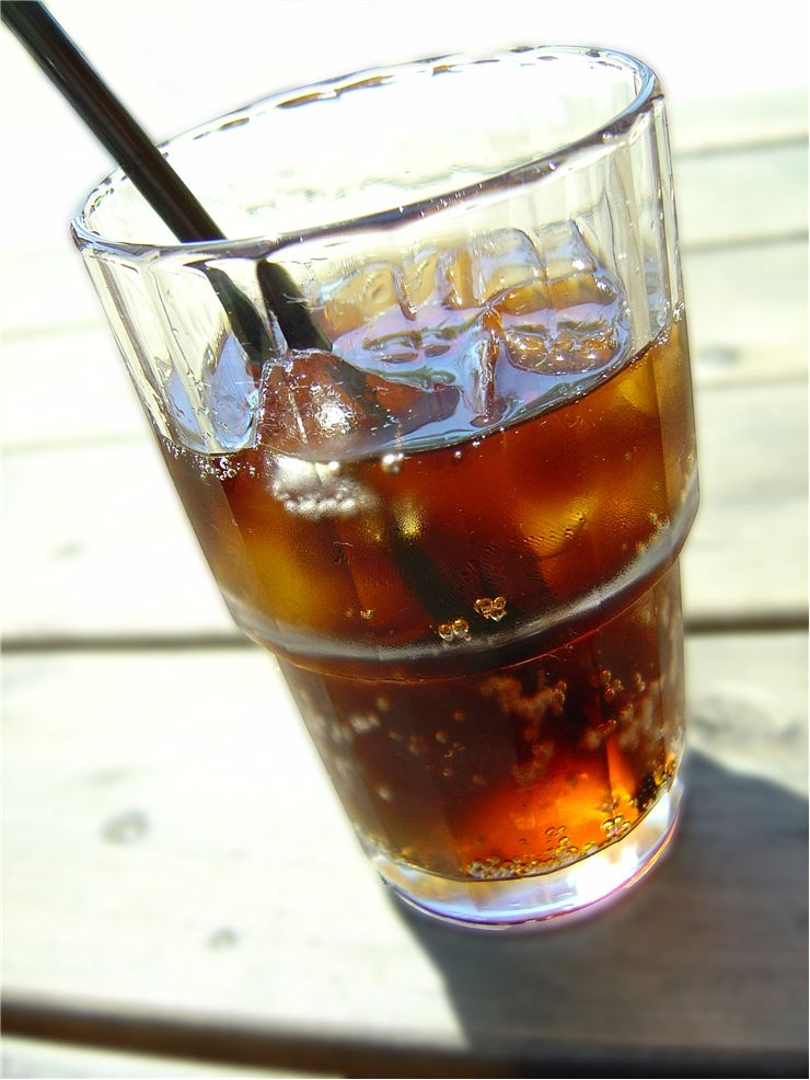 Picture Of Refreshig Cold Soft Drink