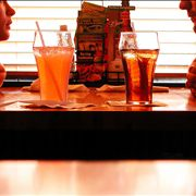 Picture Of Soda Drinks In Restaurant